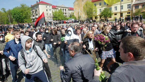 Беспорядки во Львове 9 мая