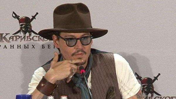 Джонни Депп раскрыл секрет популярности пирата Джека Воробья