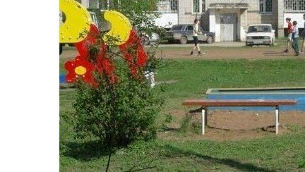 Детские площадки в городе Кинель