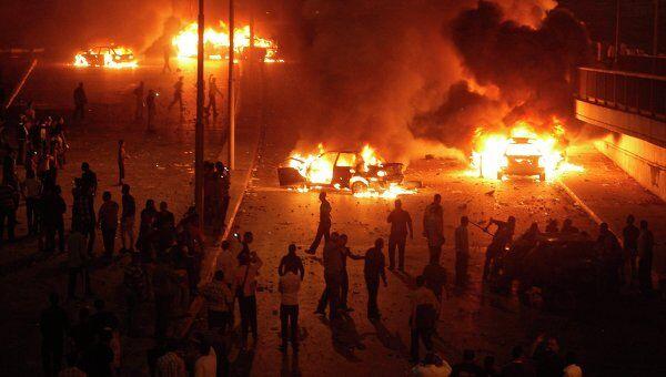 Столкновения на религиозной почве в центре Каира