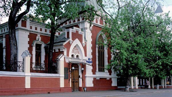Театральный музей им. А.А. Бахрушина. Архивное фото