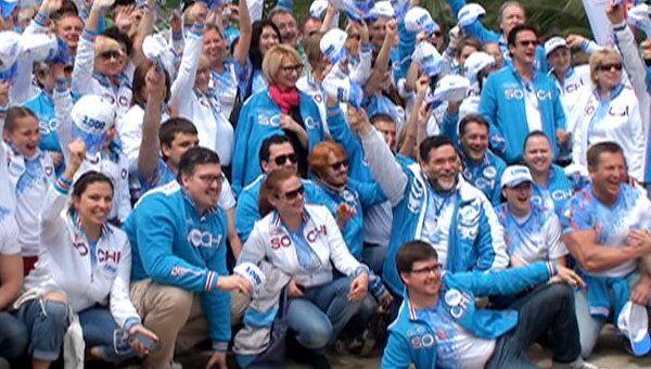 Звезды шоу-бизнеса посадили черешневый лес к Олимпиаде-2014 в Сочи