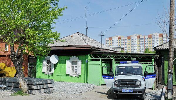 Дом на улице Куйбышева в Тюмени, где было совершено убийство семьи