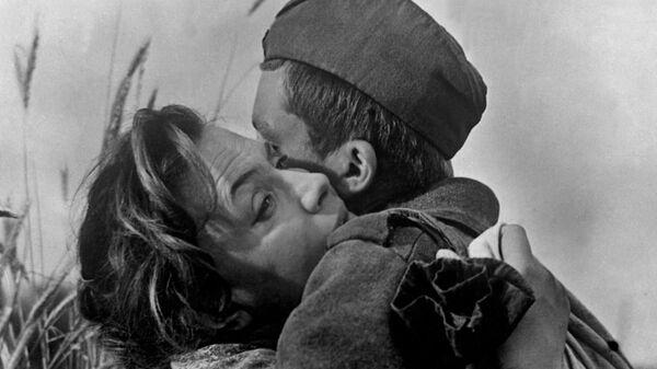 Кадр из фильма Баллада о солдате