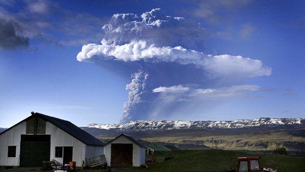 Пепел от вулкана Гримсвотн ко вторнику доберется до Британии и Коми