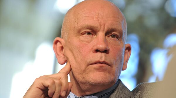 Пресс-конференция актера Джона Малковича