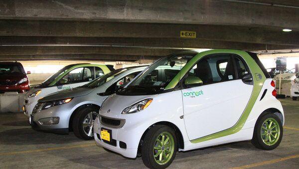 Первый прокат электромобилей открылся в Вашингтоне