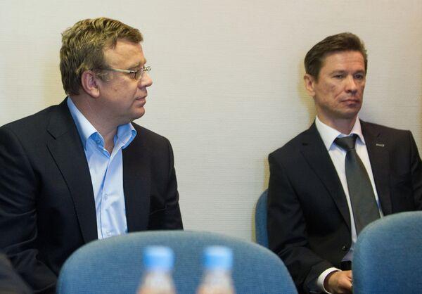 Игорь Захаркин и Вячеслав Быков (слева направо)