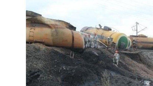 Железнодорожная авария в Костромской области