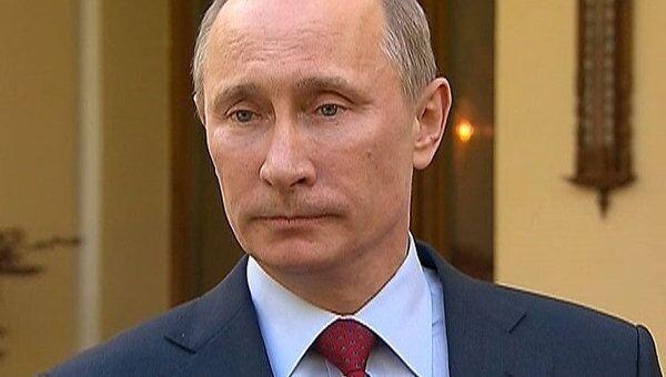 Путин признался, что история со Стросс-Каном в голове не укладывается