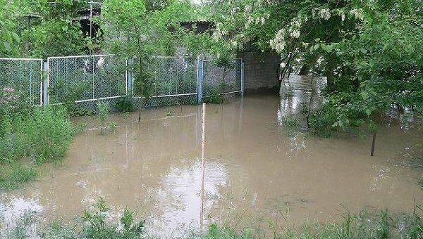 Паводок на Кубани. Архивное фото