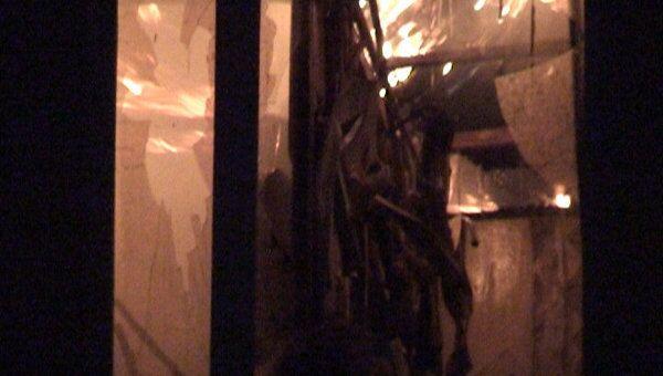 Общежитие университета физкультуры сгорело на востоке Москвы