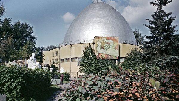 Здание планетария в Москве