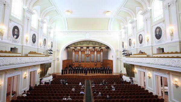 Большой зал Московской консерватории. Архивное фото