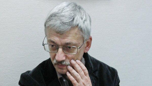 Оглашение приговора главе правозащитного центра Мемориал Олегу Орлову