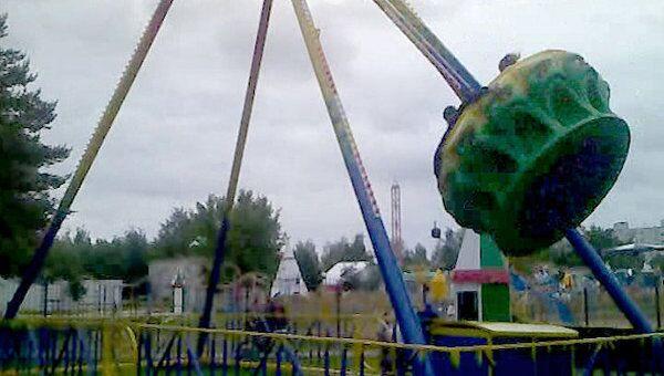 Головокружительный аттракцион появился в парке Набережных Челнов