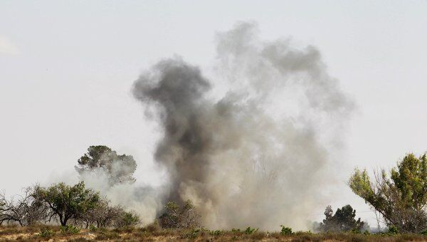 Нанесение авиадаров по территории Ливии