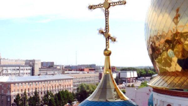 С колокольни Успенского собора весь Омск виден как на ладони