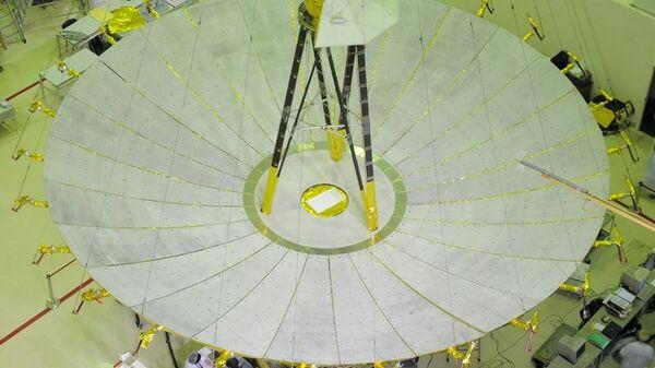 Российский космический радиотелескоп «Радиоастрон» («Спектр-Р»)