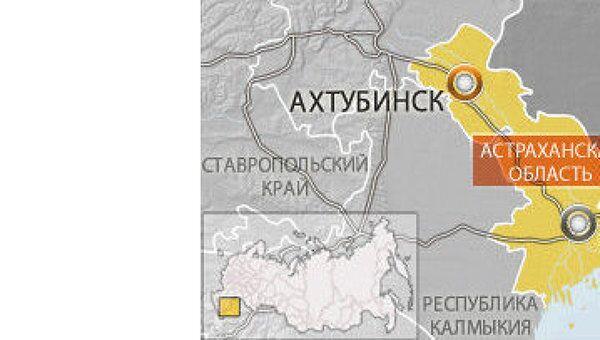 МиГ-29 потерпел крушение в Астраханской области