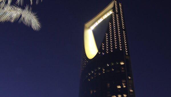 Королевская башня в Эр-Рияде - столице Саудовской Аравии.