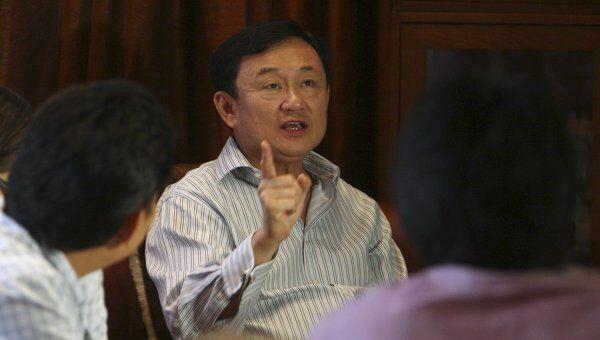 Бывший премьер-министр Таиланда Таксин Чинават