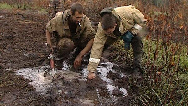 Экологи учат пожарных тушить торфяники во Владимирской области