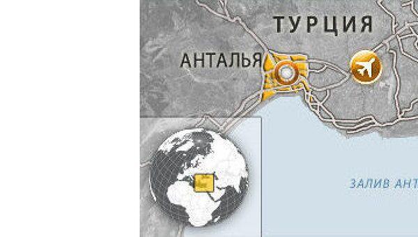 В Турции в ДТП попал автобус с российскими туристами