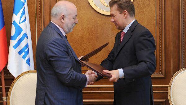 ОАО Газпром и группа компаний Ренова подписали соглашение о намерениях объединить энергоактивы. Архив