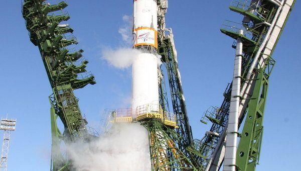 Пуск ракеты Союз-2.1а. Архивное фото
