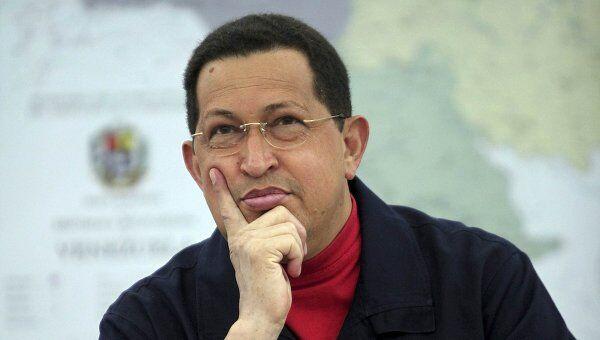 Уго Чавес принял участие в заседании Совета министров Венесуэлы