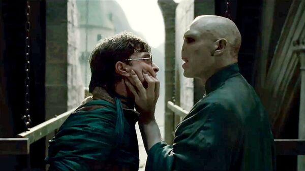 Кадр из фильма Гарри Поттер и дары смерти. Часть 2