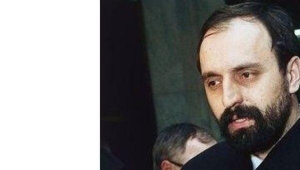 Бывший президент самопровозглашенной Республики Сербская Краина (на территории Хорватии) Горан Хаджич. Архив