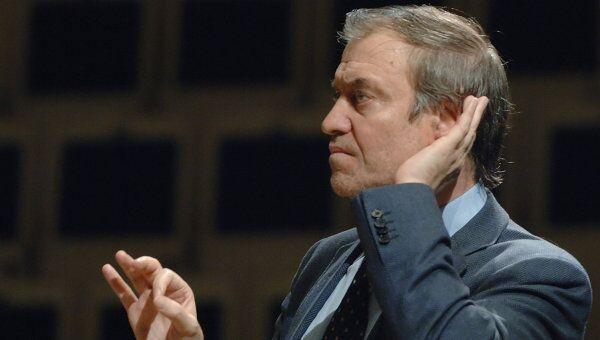 Художественный руководитель, главный дирижер Мариинского театра Валерий Гергиев