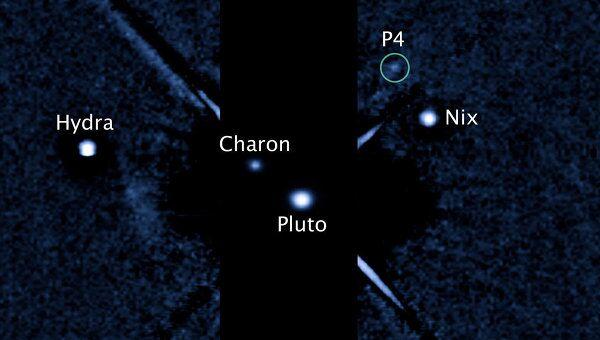 Хаббл открыл новый спутник Плутона