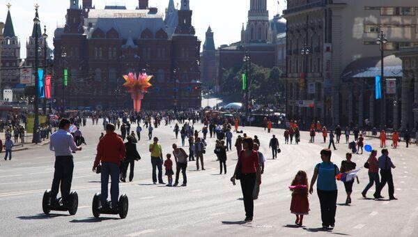 Тверская улица в Москве. Архивное фото