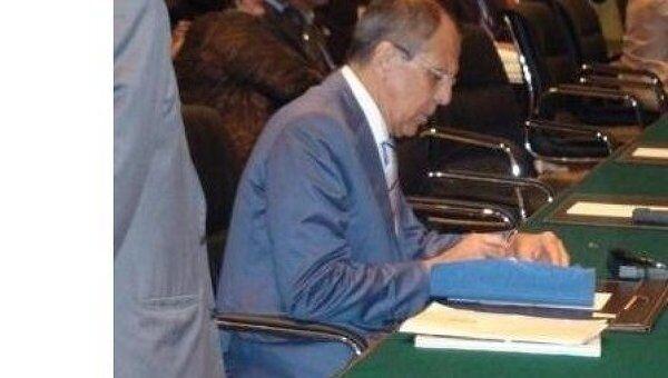 Министр иностранных дел РФ Сергей Лавров на министерских консультациях Восточно-Азиатского саммита (ВАС)