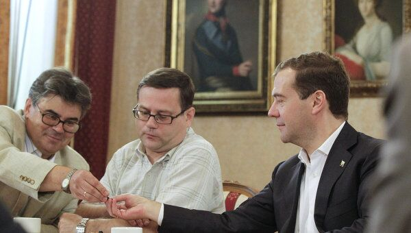 Рабочая поездка президента РФ Дмитрия Медведева во Владимир