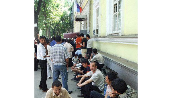 Определена квота на трудовых мигрантов для Москвы на 2010 год