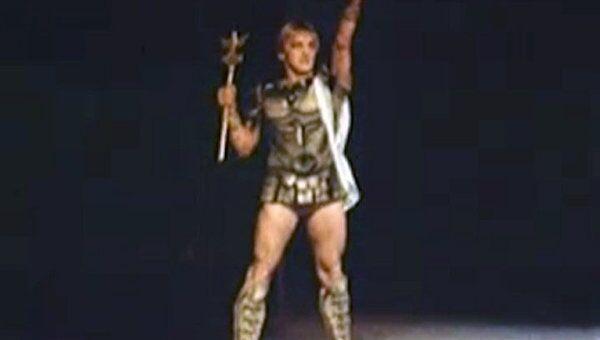 Марис Лиепа танцует на сцене Большого театра