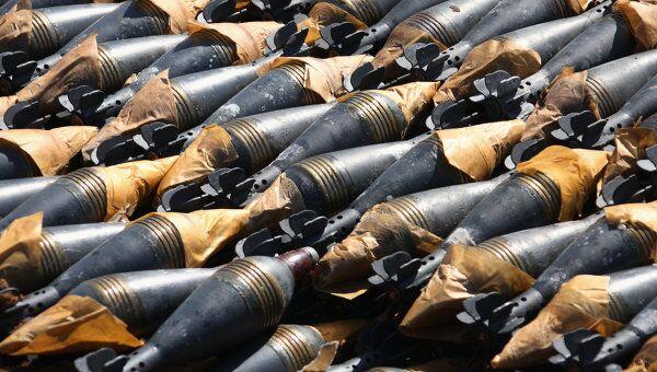 Утилизация просроченных боеприпасов. Архив