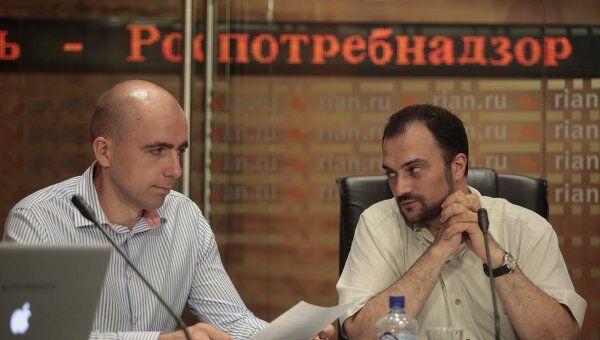 Владимир Арончик и Сергей Иванов