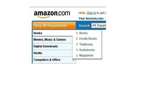 Онлайновый магазин Amazon