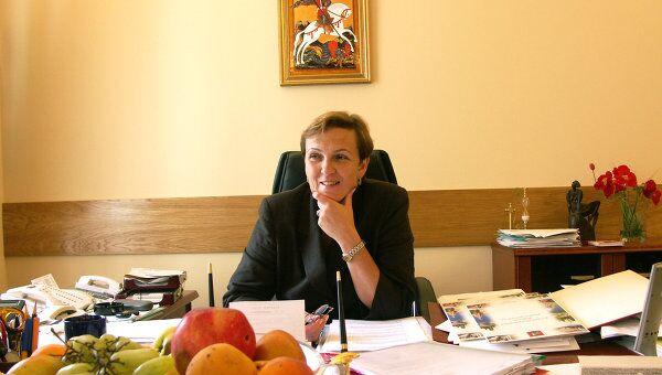 Руководитель Департамента экономической политики и развития Москвы Марина Оглоблина. Архив