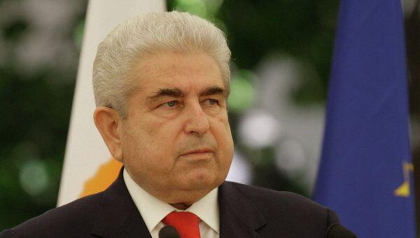Президент Республики Кипр Димитрис Христофиас. Архив
