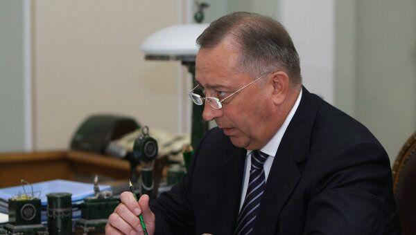 Встреча премьер-министра РФ Владимира Путина с Николаем Токаревым