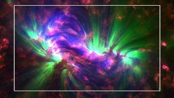 Волны Альфвена на Солнце на снимке, сделанном обсерваторией SDO