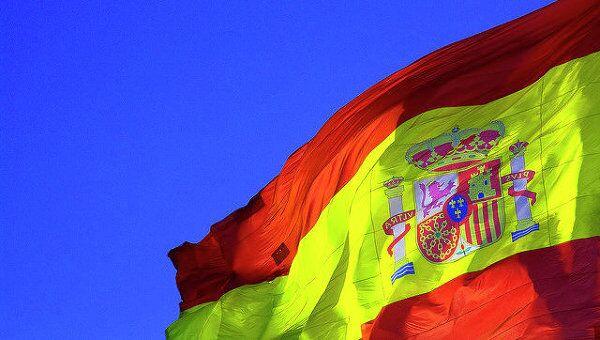 Флаг Испании. Архивное фото