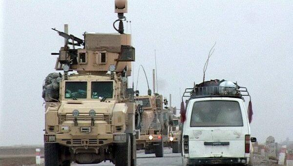 Американские бронетранспортеры и минные тральщики втягиваются в уезд Марджа провинции Гельменд