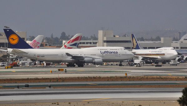 Авиакомпании Lufthansa. Архив